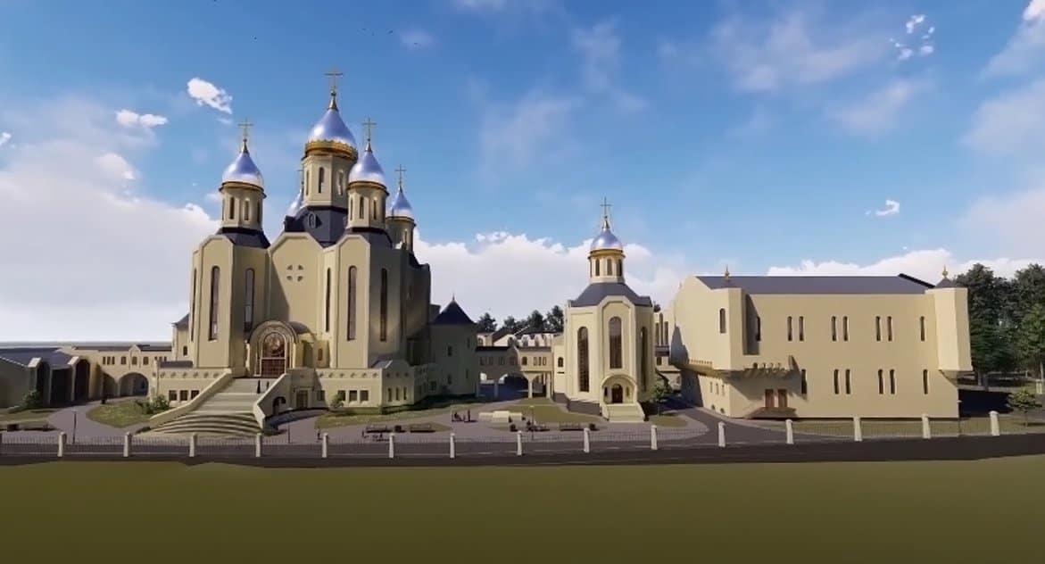 В Москве начали строить главный храм российских олимпийцев