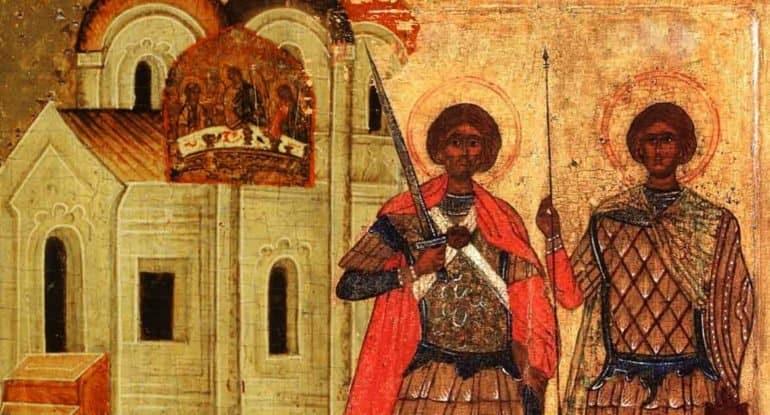 Близнецы небесные: истории святых братьев, которые родились и умерли вместе