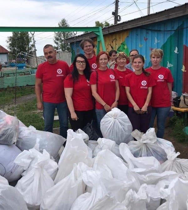Православные волонтеры привезли помощь в пострадавшие от подтопления Нижние Серги