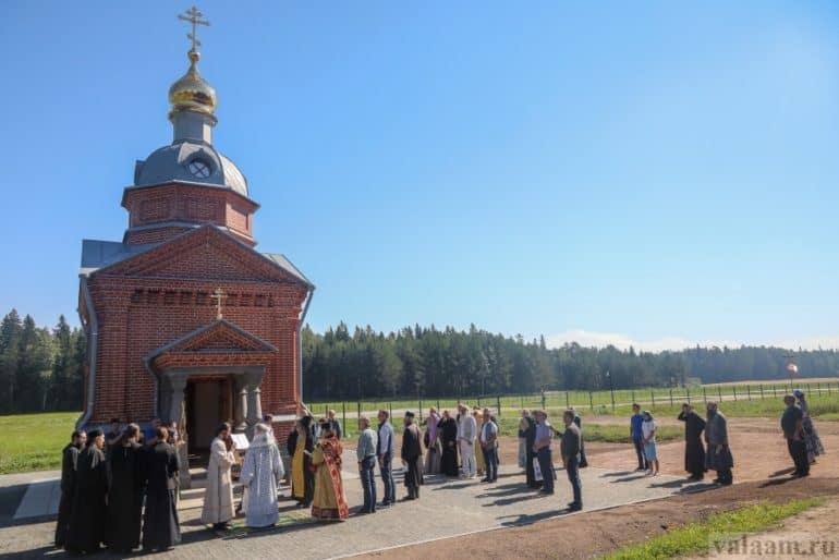 Часовню в честь преподобного Германа Аляскинского освятили на Валааме