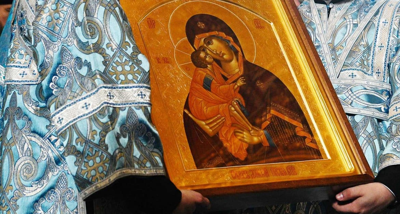 Донскую икону 31 августа принесут на три дня в Донской монастырь