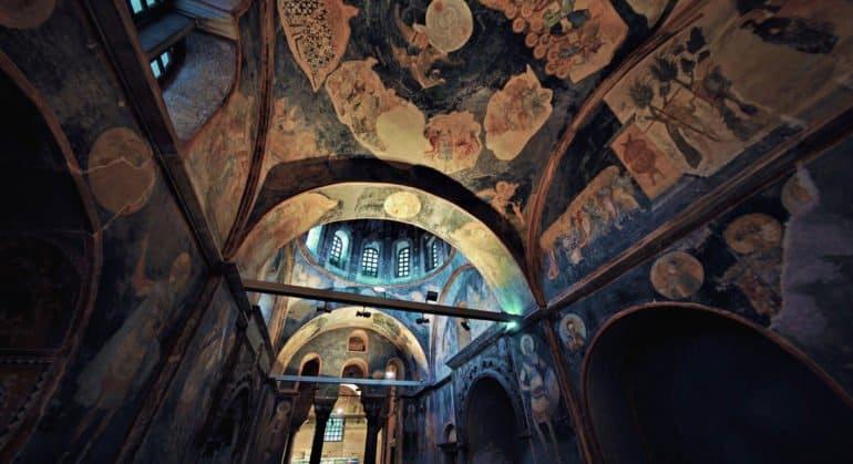 В Церкви опасаются, что мозаики монастыря Хора будут недоступны для паломников