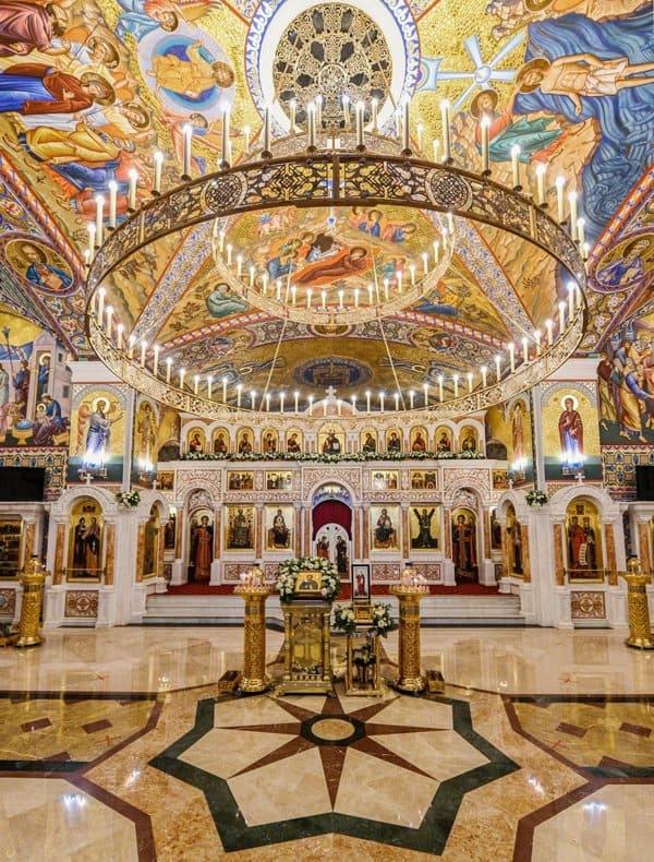 В Красногорске патриарх Кирилл освятил храм в честь Николая Чудотворца