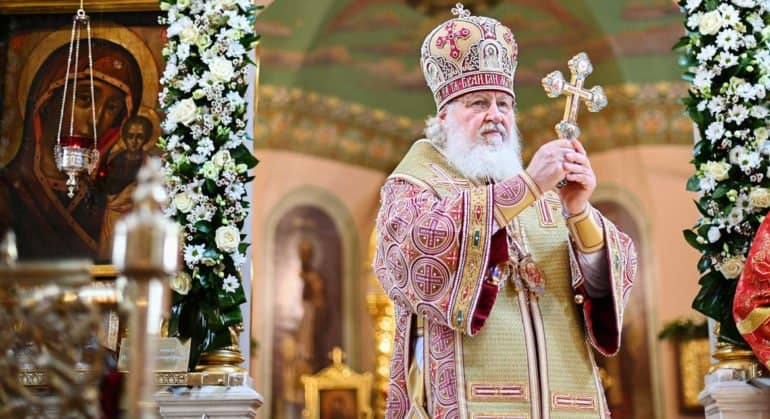 Патриарх Кирилл отметил труды митрополита Амфилохия в деле духовного возрождения Черногории