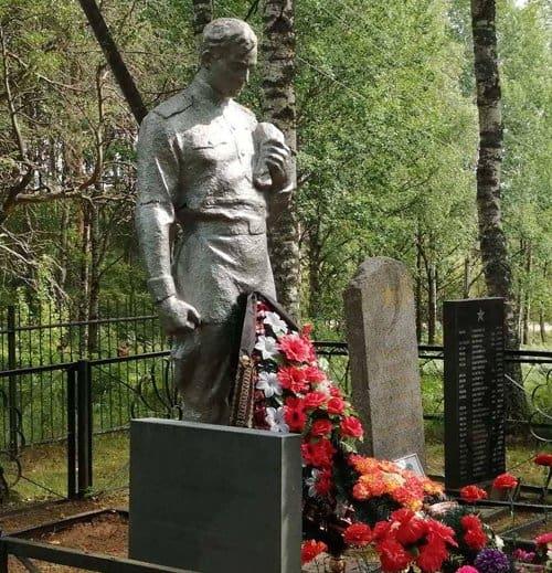 Деталь от самолета помогла найти могилу героев Великой Отечественной