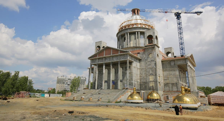 К 2023 году в Челябинске достроят новый кафедральный собор
