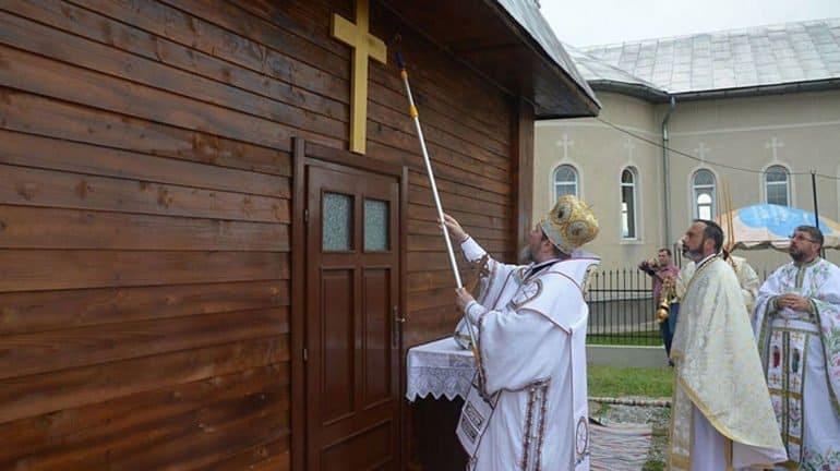 Первый в мире храм в честь преподобного Софрония (Сахарова) освятили в Румынии