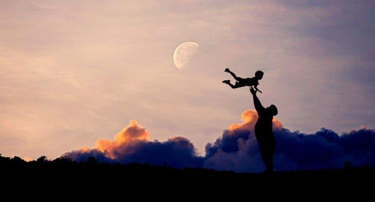 Два слова о сыновней и родительской любви