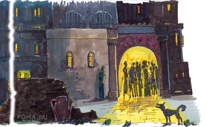 Апостол Петр. Отречение и покаяние ученика Христа