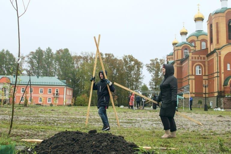 В Томской области на территории храма сделают дендропарк сибирских растений