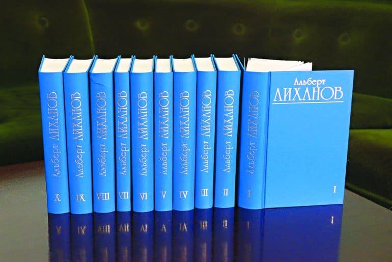 Писатель и общественный деятель Альберт Лиханов отмечает 85-летие