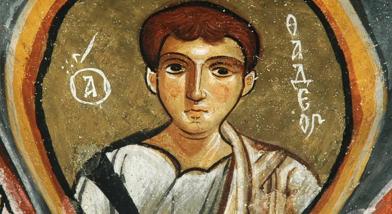 Церковь вспоминает святого апостола от 70-ти Фаддея