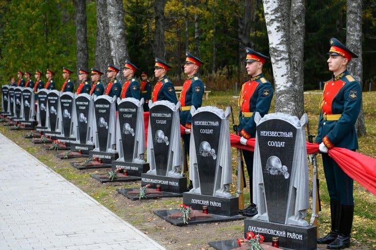 В память о воинах, освобождавших Карелию от фашистов, открыли часовню
