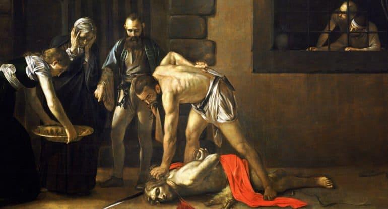 Что скрыл Караваджо на своей картине «Обезглавливание Иоанна Крестителя», и другие загадки известных изображений великог...