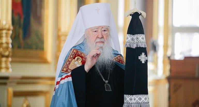 Митрополит Крутицкий Ювеналий попросил отправить его на покой