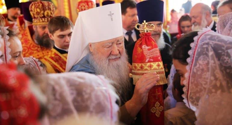 Митрополит Крутицкий Ювеналий награжден орденом «За заслуги перед Отечеством» I степени