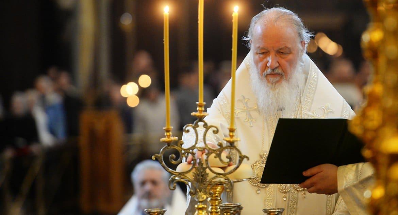 Патриарх Кирилл примером из Евангелия призвал ковид-диссидентов не искушать Бога