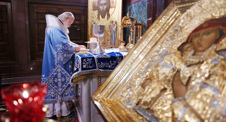 Патриарх Кирилл надеется, что утраченные иконы Богородицы когда-нибудь вернутся