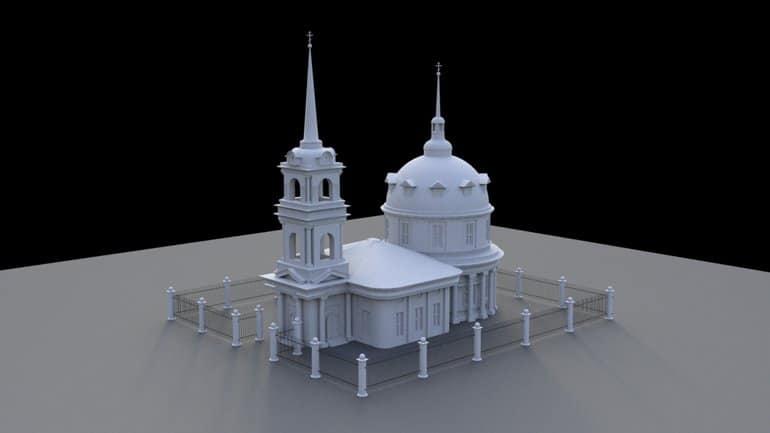 Церковь начала сканировать аварийные храмы для создания их единого реестра