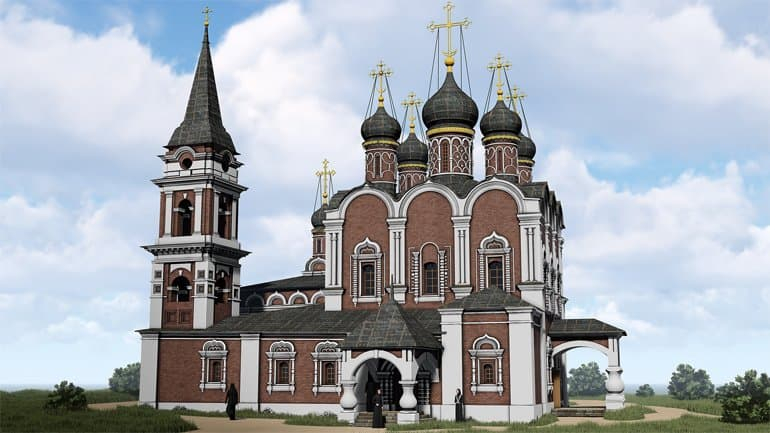 Рельеф Белого города Москвы создали в трехмерном виде
