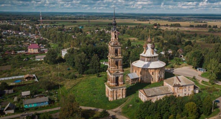 Уникальный «круглый» храм XVIII века в Курбе защитили от разрушения