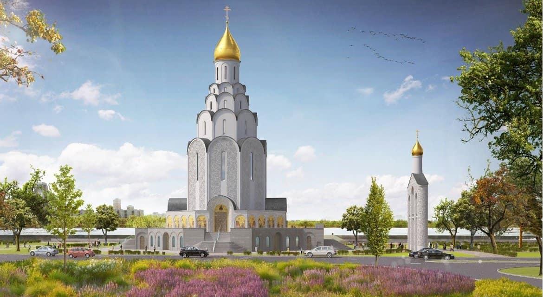 Мозаики нового храма в Тушине расскажут об истории Русской Церкви