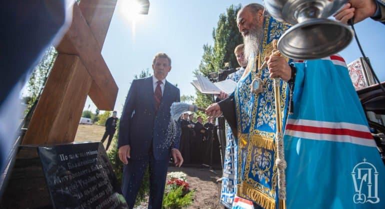 При киевском институте построят храм преподобного Сергия Радонежского