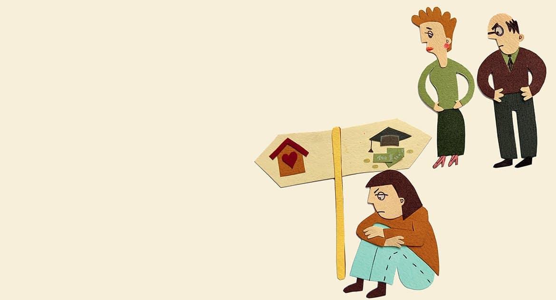 Неоправдываю ожиданий родителей. Как быть? —отвечает православный психолог