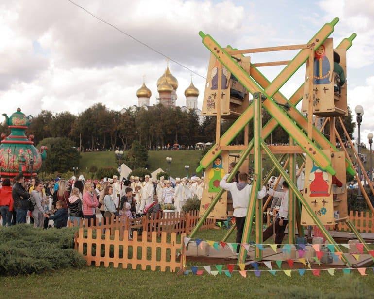 1010-летие Ярославля отметили на Самоварфесте
