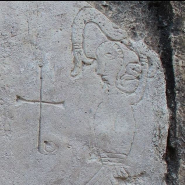 Граффити XII века в соборе Переславля-Залесского вошло в топ-10 археологических открытий года