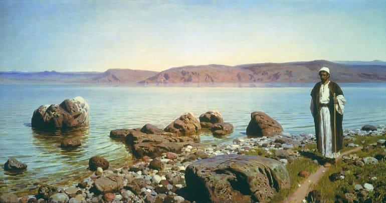 На Тивериадском озере. Василий Поленов, 1888