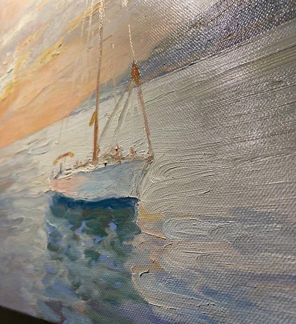Марфо-Мариинская обитель приглашает на выставку, соединившую цитаты святого и морские пейзажи