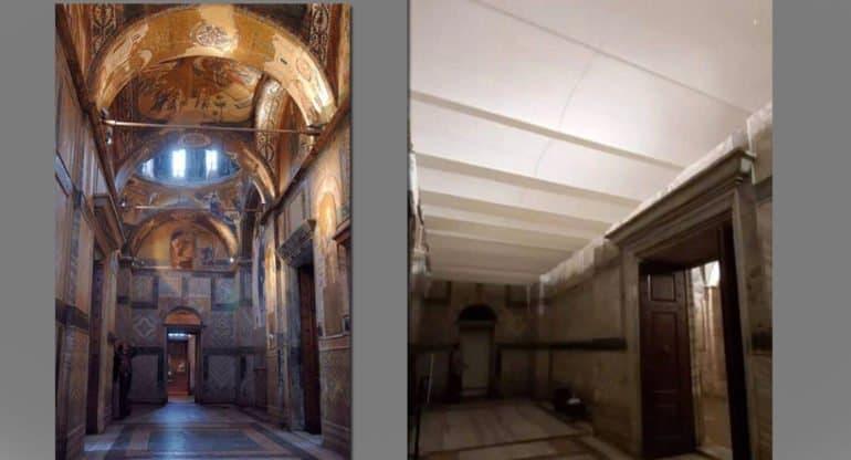 Священник назвал «горем для православных» переделку монастыря Хора в мечеть