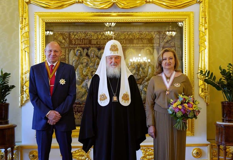 Анна Громова награждена орденом преподобной Евфросинии Московской II степени