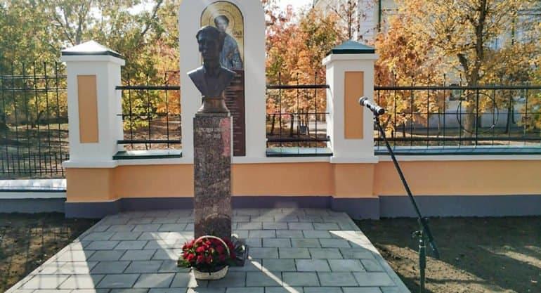 Памятник новомученику и антифашисту Александру Шморелю открыли в Оренбурге