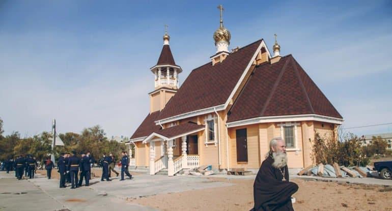 В Ахтубинске открыли храм, в котором будут молиться о летчиках-испытателях