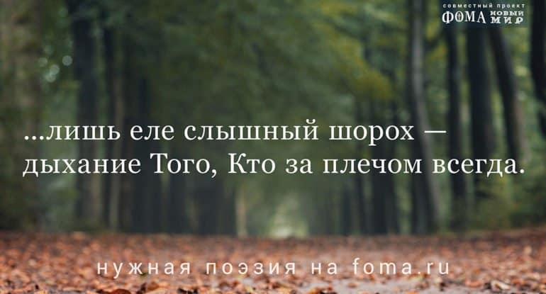 «Извук иотзвук». Поэзия Олега Чухонцева