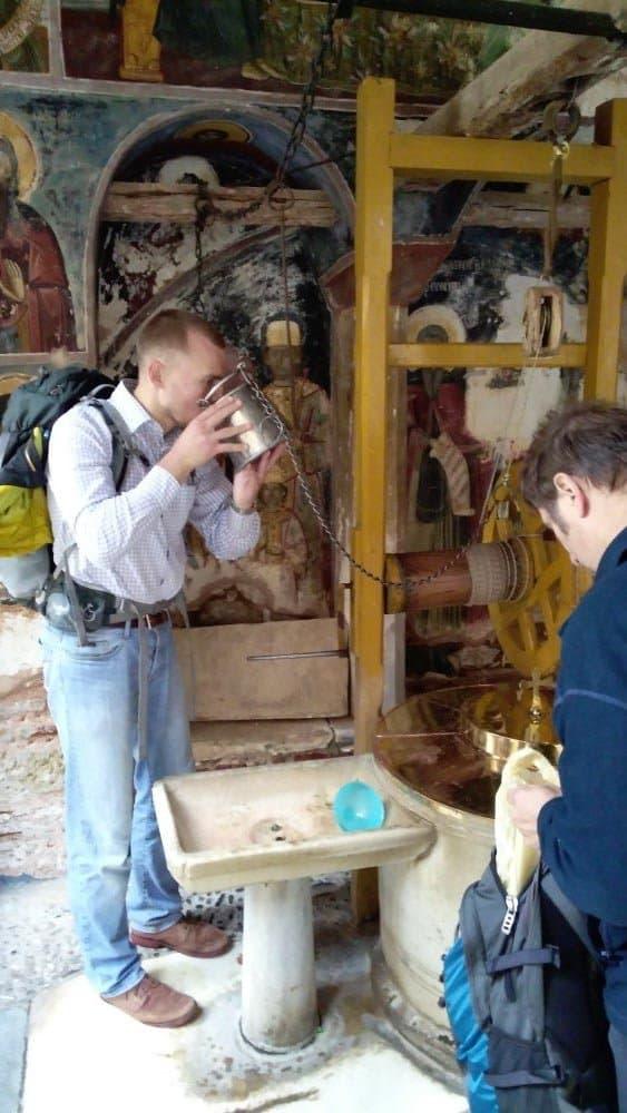 Дохиар. Фоторепортаж Александра Ткаченко из афонского монастыря