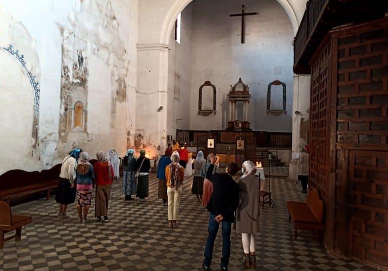 В Гранаде состоялась первая служба в храме, переданном католиками православной общине