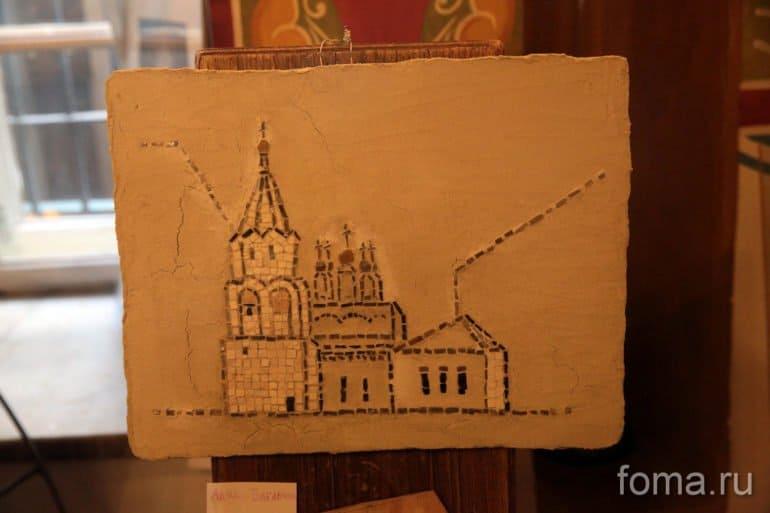 Благотворительный пленэр прошел в храме Феодора Студита в Москве