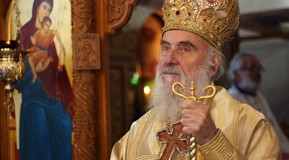 Патриарх Сербский Ириней госпитализирован с коронавирусом