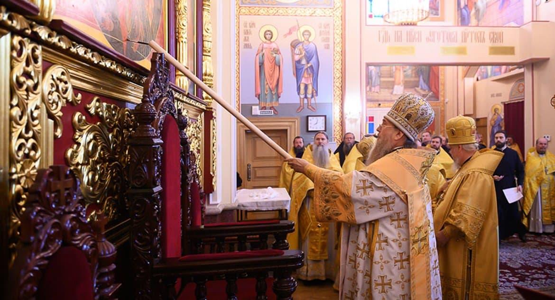 В Алма-Ате освятили отреставрированный уникальный Воскресенский собор