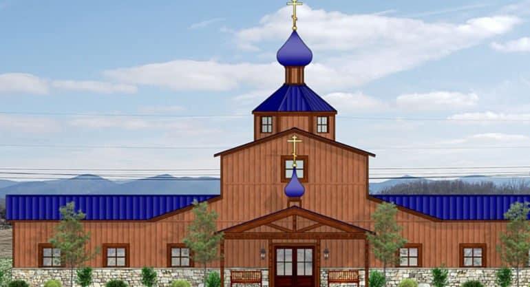 Строящийся в Вирджинии храм будет окормлять православных из нескольких городов