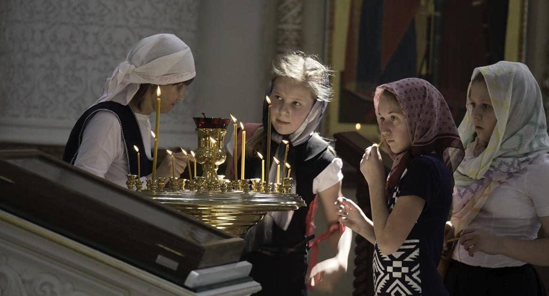 Дети водят внуков в храм. Это хорошо?