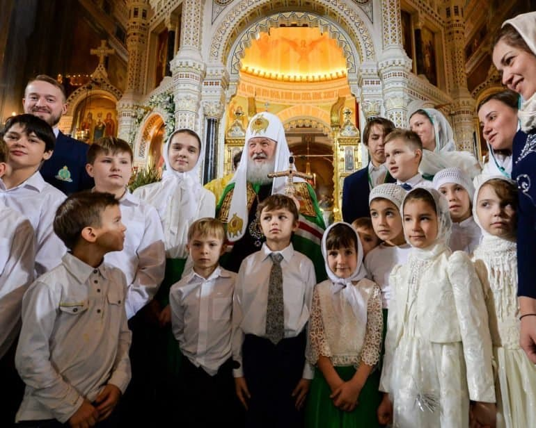 «Господь напомнил всем нам о Своем присутствии», — сильные цитаты Патриарха Кирилла в 2020 году