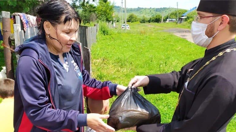 В 2020-м Русская Церковь потратила более 18,5 млн. рублей на еду для бедных