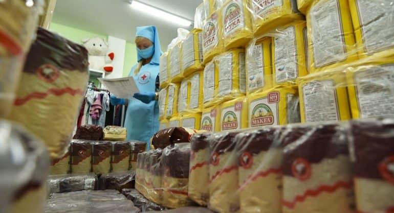 С июня 2020-го Церковь передала на продукты нуждающимся более 20 млн. рублей