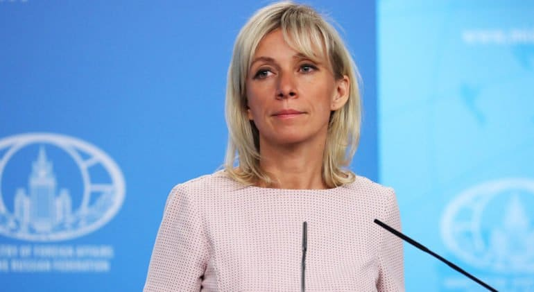 Официальный представитель МИД России Мария Захарова отмечает юбилей