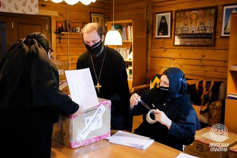 Улусы в Арктике получат 2 тонны продуктов от новой православной службы помощи Якутии