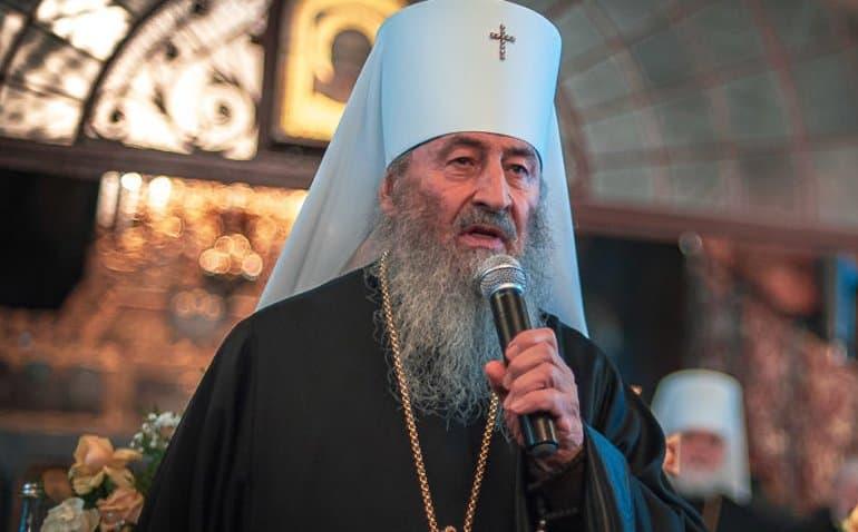 Митрополит Онуфрий ожидает обострения ситуации с раскольниками, если приедет патриарх Варфоломей